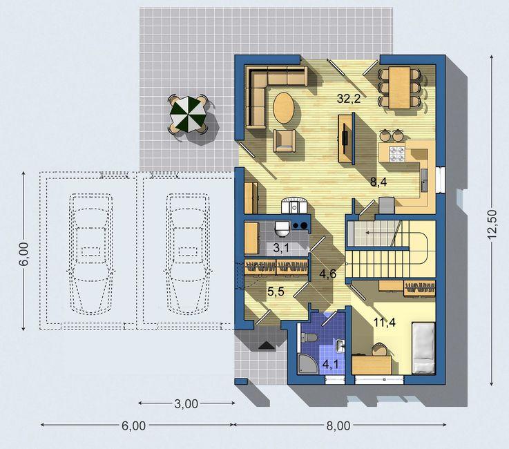 Rodinný dom Rustikal 807