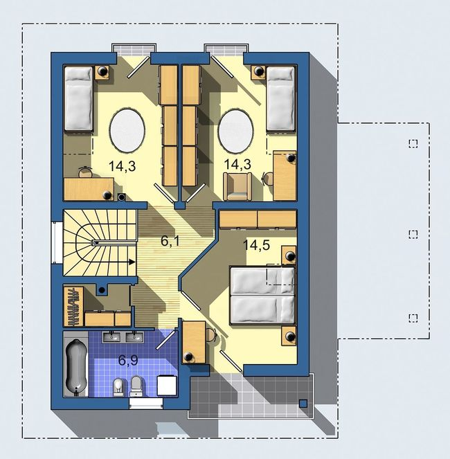 Rodinný dom Aktual 027