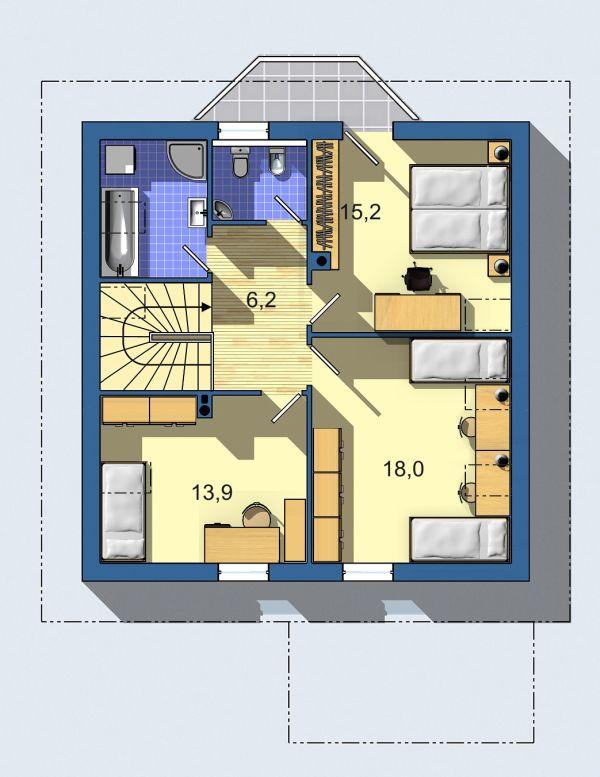 Rodinný dom Aktual 036