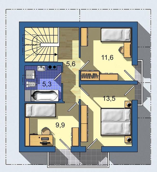 Rodinný dom Aktual 520