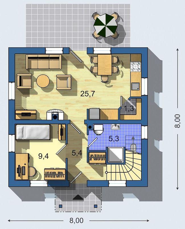 Rodinný dom Aktual 621